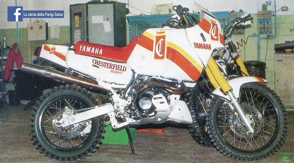 Yamaha XTZ 660 BYRD 1987