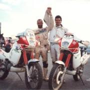 Massimo Montebelli e Fabrizio Meoni Dakar 1992