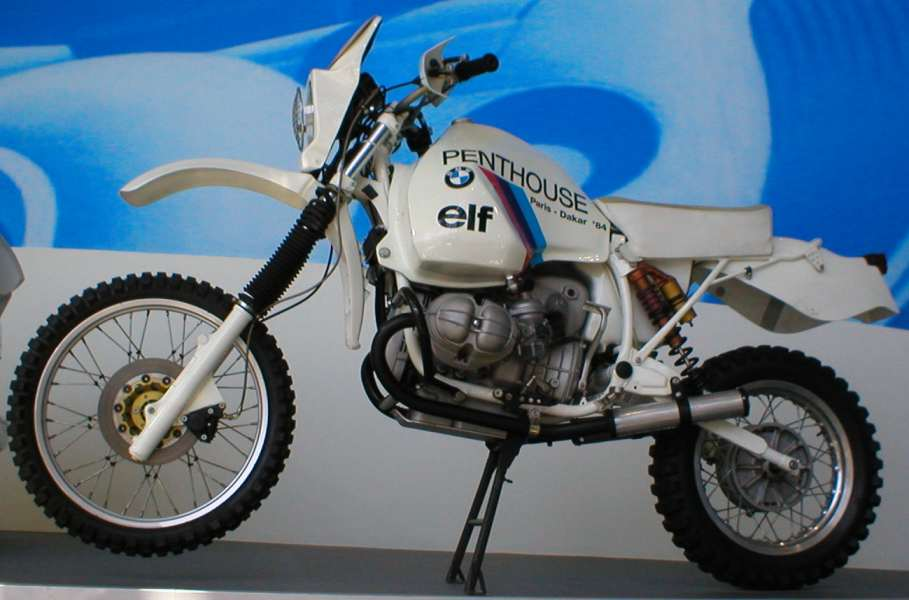bmw gs 1000 dakar 1984 la storia della parigi dakar. Black Bedroom Furniture Sets. Home Design Ideas
