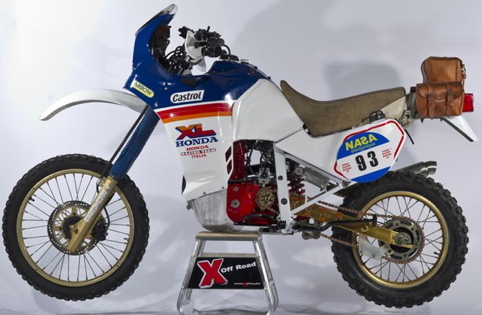 Honda Xl 600l 1986 La Storia Della Parigi Dakar