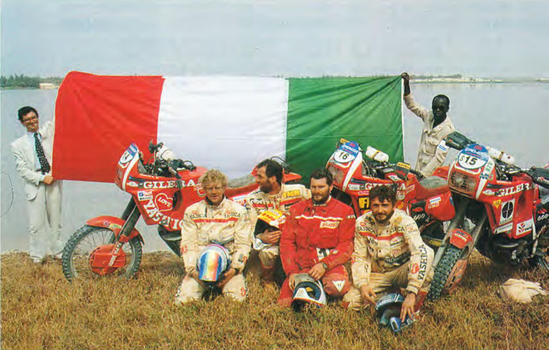 1991 Simpenan Sesuratan Penting Kaca 2 Ti Nu Sajarah Paris Dakar Jaket Motor Pria Rc660
