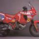 La Gilera RC 660 del 1991 con cui concluse al 7° posto nell'assoluta