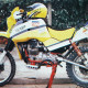 Moto Guzzi V65 TT of towers to Dakar 1985