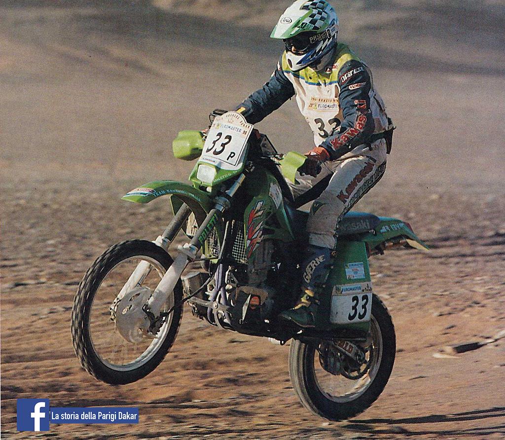 MALETTI DAKAR 1998 MOTOCROSS