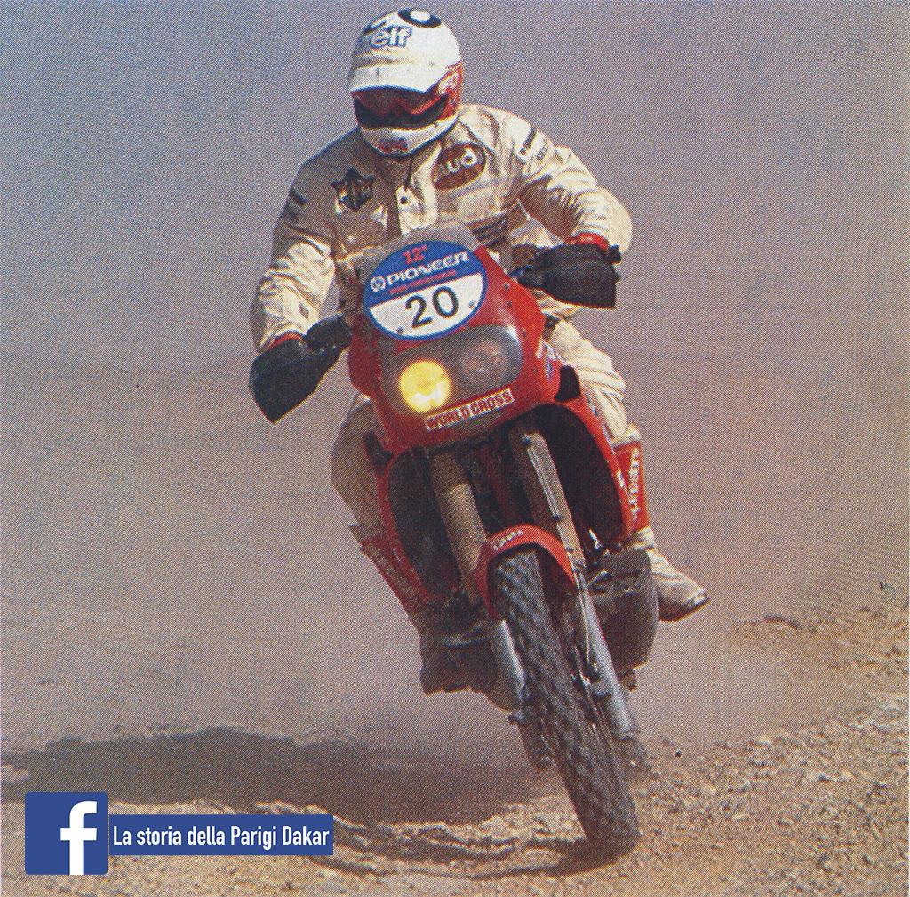 Alberto Mercandelli DAkar 1990