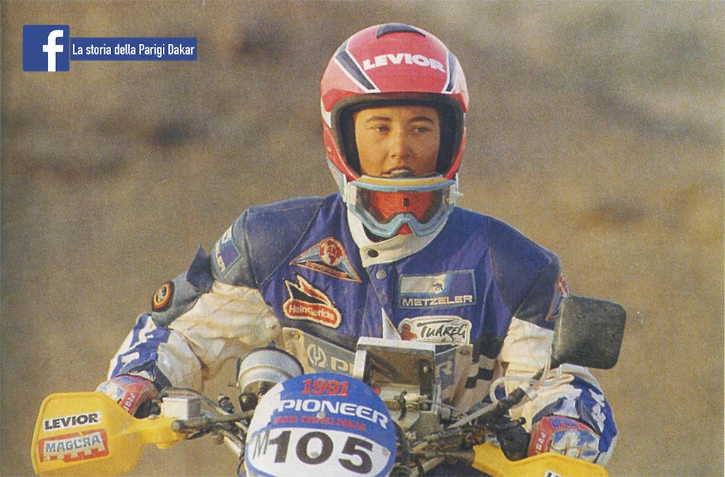 Patricia Schek Dakar 1991