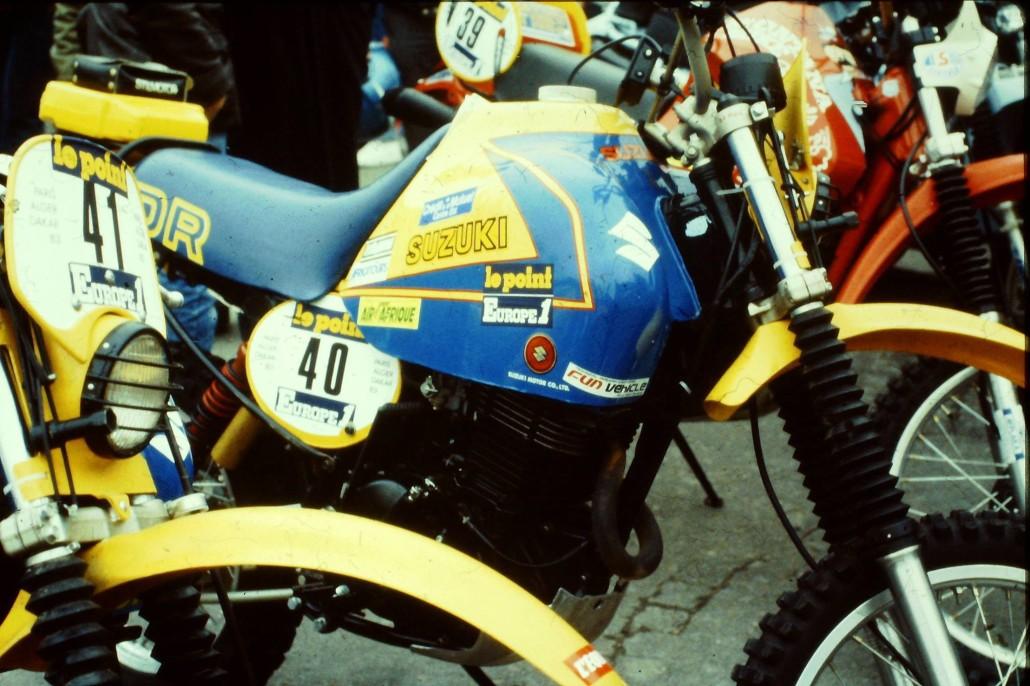 Suzuki DR 500 1983-1