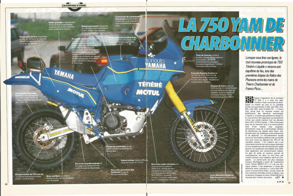 YZE 750 1988