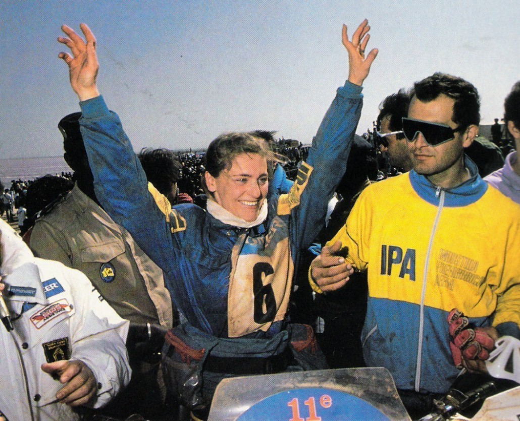 Patricia Wolf, Honda XR250