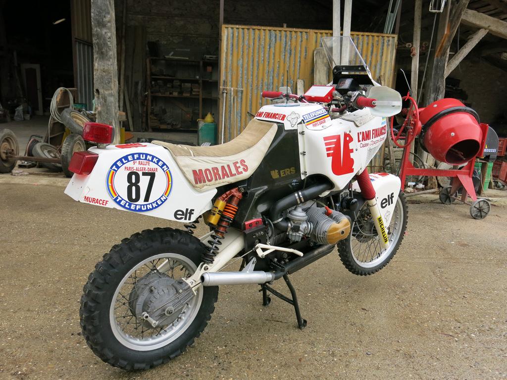Ecureuil 1000 Dakar 1987 L Histoire Du Paris Dakar