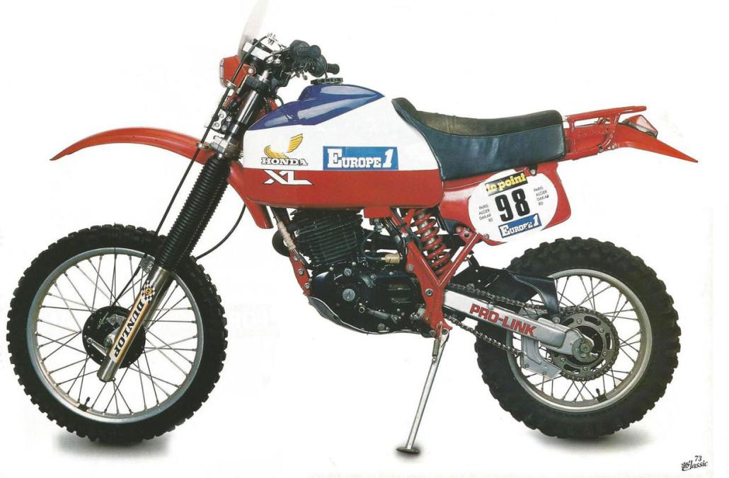 1982 Honda XL-1
