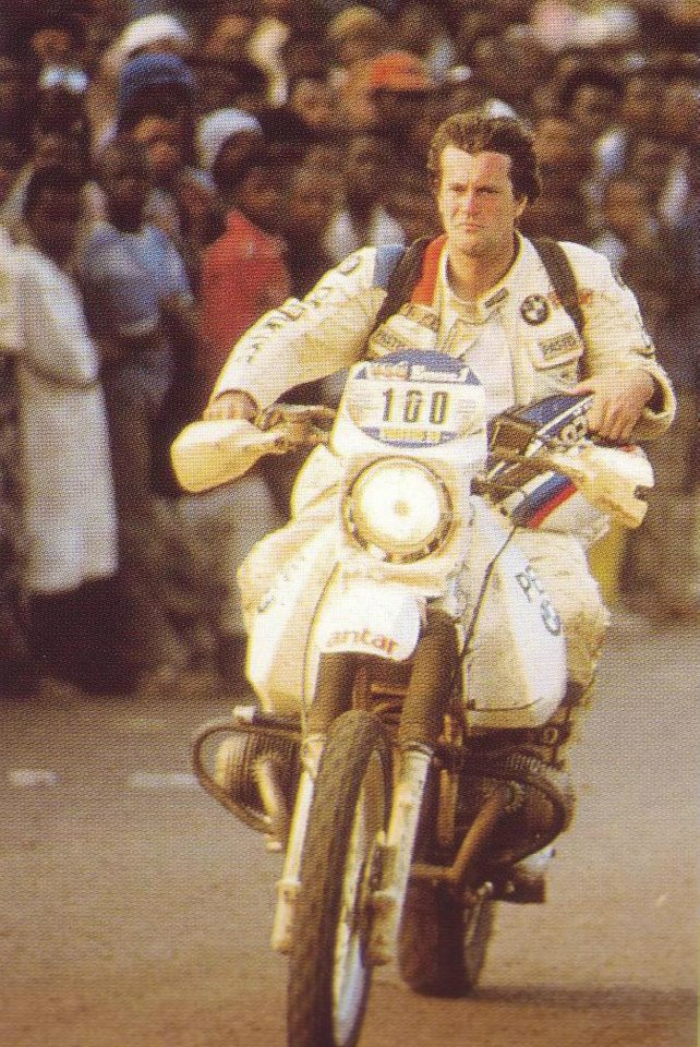 1984  a second place in a thousand quarrels with Rahier. It will be the  last Dakar with BMW 87c432ab2a