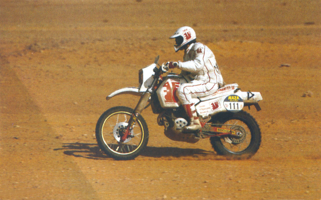 Pierre Marie Poli Dakar 1986