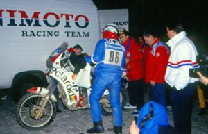 Aldo WInler on Honda to Set