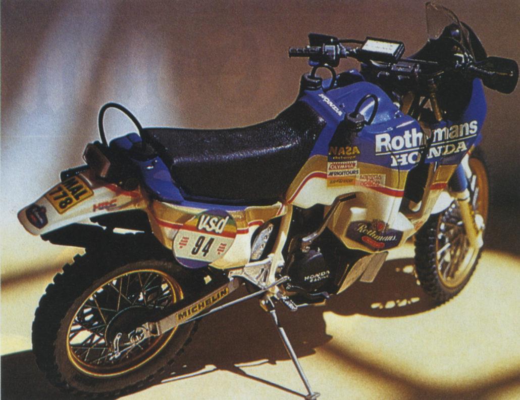 Honda Nxr 750 Tamiya Model Francois Charliat La Storia Della Parigi Dakar