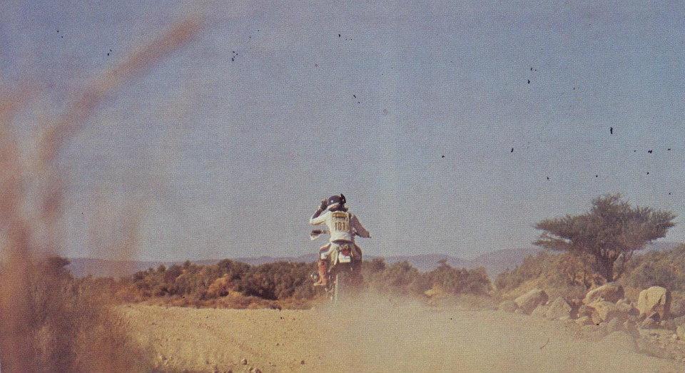 Dakar misfortune that of 1982, ended with a retreat