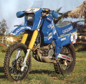 The Yamaha 600 Ténéré of Dakar 1985