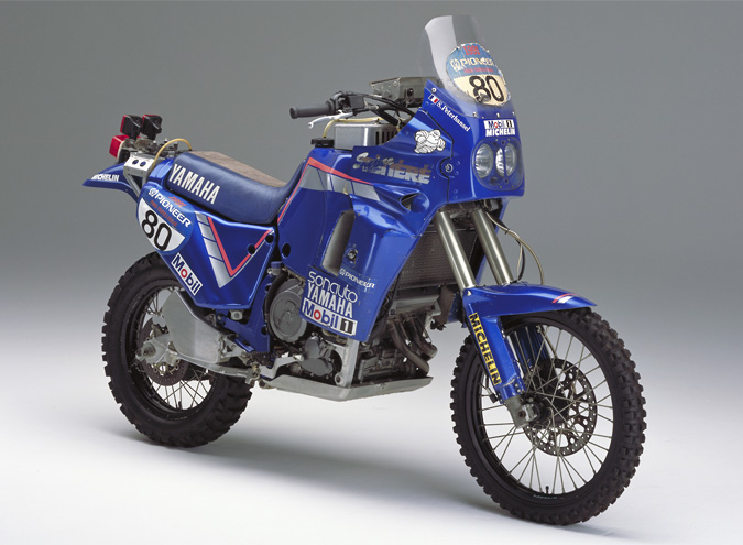 Finally, in the 1991 comes the victory with the YZE750T OWC5
