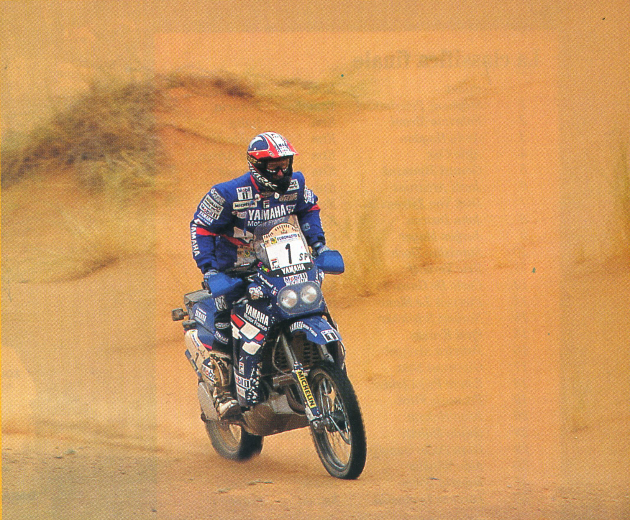 Peterhansel's last win at the Dakar 1998