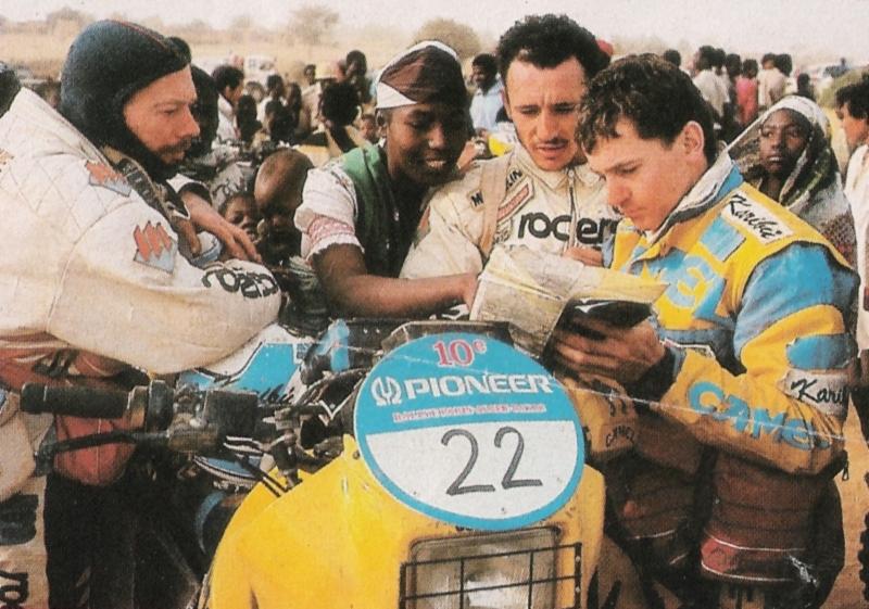 Dakar 1988 l'anno del debutto
