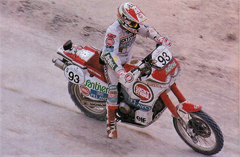 Dakar 1994 2° classificato 6 PS vinte!